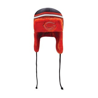 Chicago Bears Word Trapper Knit Hat