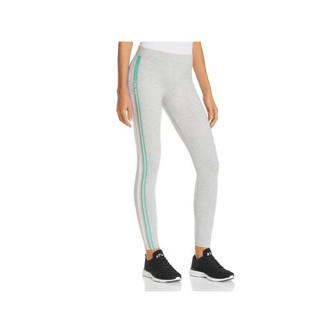 Fila Womens Virginia Athletic Leggings Fitness Yoga - Gray
