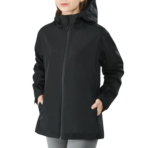 Women's Waterproof & Windproof Rain Jacket With Cuff