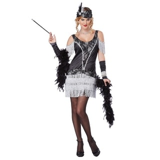 Womens Razzle Dazzle Flapper Dress