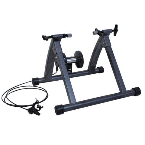 Magnetic Exercise 5 levels of Resistance Indoor Bicycle - Grey