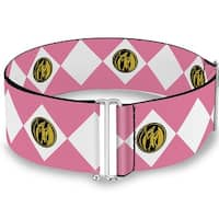 Diamond Pink Ranger Cinch Waist Belt   ONE SIZE