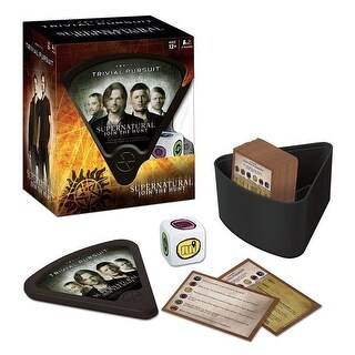 USAopoly Supernatural Trivial Pursuit Board Game - multi