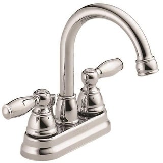 Delta P299685LF-ECO-W Double Handle Lavatory Faucet, Chrome