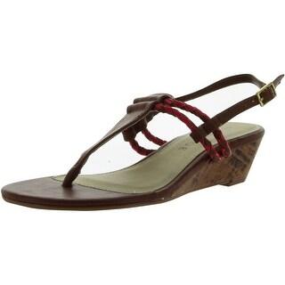 Rampage Women Carmina Sandals - Cognac