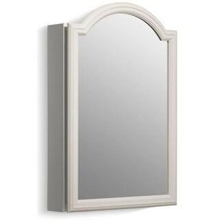 """Kohler K-CB-CLW2030DAW Devonshire 20"""" x 29.5"""" White Enameled Aluminum Single Door Medicine Cabinet"""