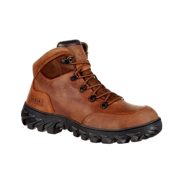 Rocky Work Boots Mens S2V Waterproof Composite Toe Brown