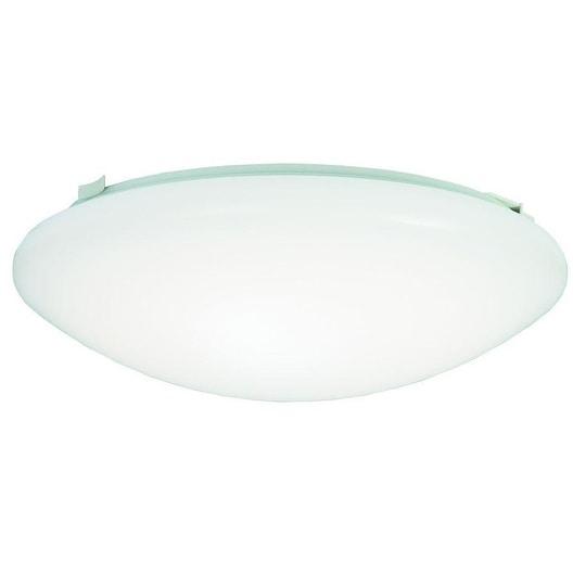 "Metalux FMLED12WH830PR LED Ceiling Light Fixture, 12"""