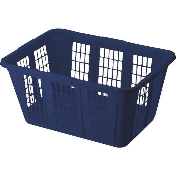 Rubbermaid Blue Laundry Basket
