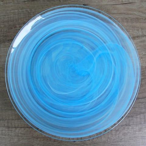"""NUAGE Aqua 11"""" Dinner Plate"""