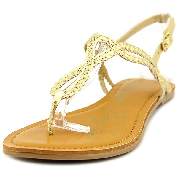 American Rag Keira Women Gold Sandals