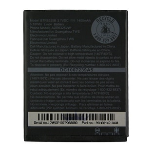Battery for HTC ADR6325 Replacement Battery