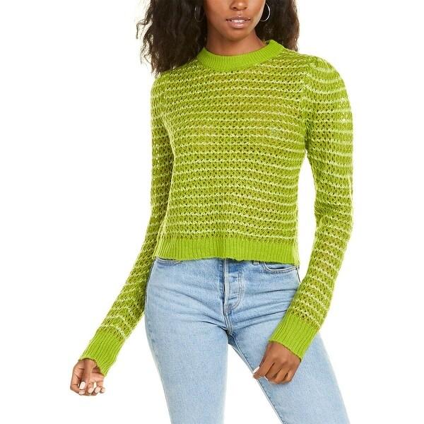 Wayf Open Knit Sweater. Opens flyout.
