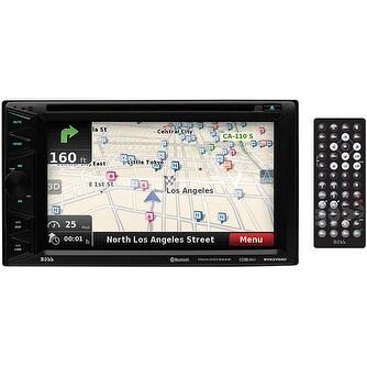 """Boss 6.5"""" DDin Receiver Touchscreen Bluetooth DVD/CD USB/SD Navigation"""