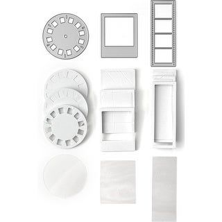 Queen & Company Shaker Shape Kit-Say Cheese