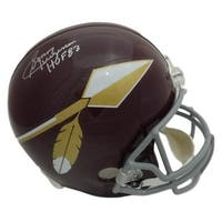 Sonny Jurgensen Autographed Washington Redskins Replica Spear TB Helmet HOF JSA