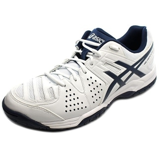 Asics Gel-Dedicate 4 Men  Round Toe Synthetic White Sneakers