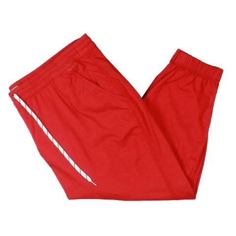 Levi's Womens Jet Set Jogger Pants Drawstring Pull On - Red