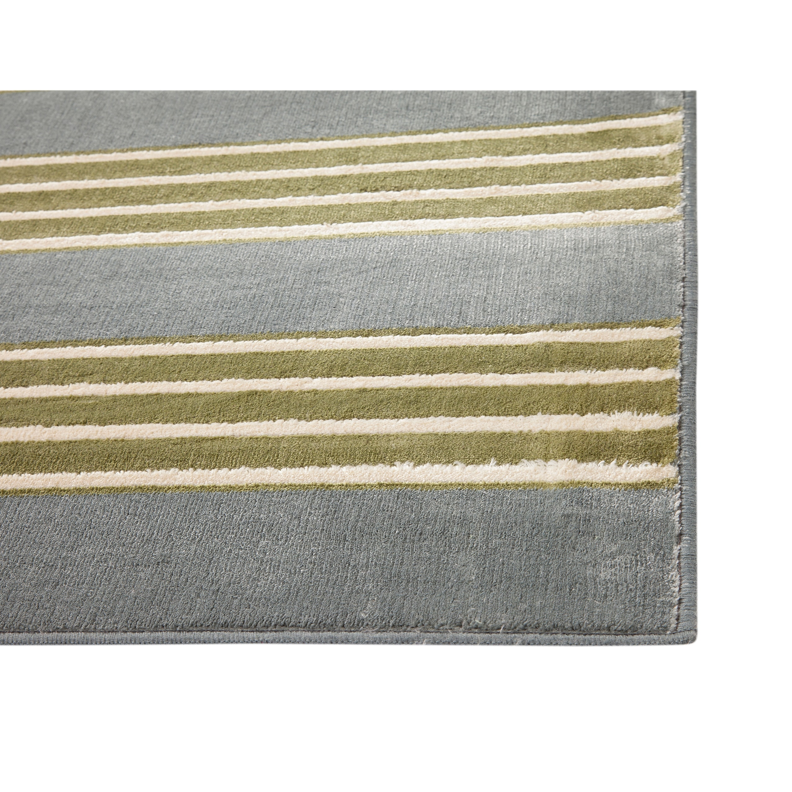 Spencer Striped Power Loom Viscose Area Rug By Greyson Living On Sale Overstock 11483886