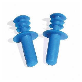 Blue Molded Plastic Ear Plugs Water or Swimming Pool Accessories