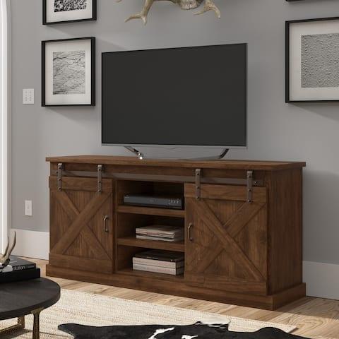 The Gray Barn Sycamore Rise Farmhouse Wood 66-inch TV Console