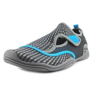 JBU by Jambu Nemo Women Round Toe Canvas Black Water Shoe (Option: Water Shoes)