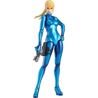 Metroid: Other M Samus Aran (Zero Suit Version) Figma Action Figure - multi
