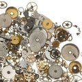 Watch Part Assortment, Gear Embellishments Cogs and More, 50 Gram Package - Thumbnail 0