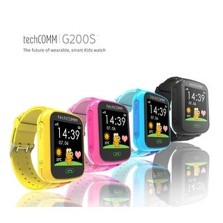 TechComm G200S Kids Smart Watch with Pedometer GPS Text and Call