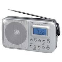 Supersonic Sc-1091 Portable 4-Band Am/Fm/Sw1-2 Radio