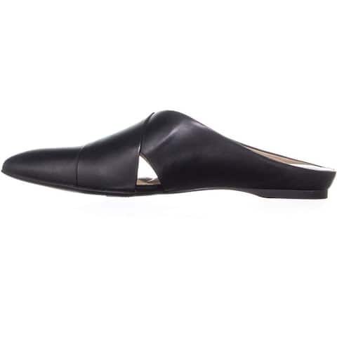 Naturalizer Womens Simonette Leather Pointed Toe Mules