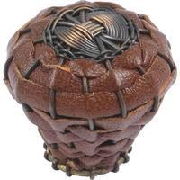 Atlas Homewares 3173 Hamptons 1-1/2 Inch Diameter Mushroom Cabinet Knob - Aged Bronze