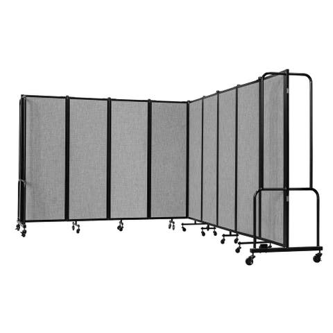 NPS Portable Room Divider, 6' Height, 9 Panels