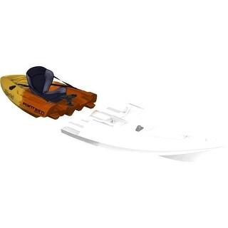 Tequila GTX Angler Modular Kayak Black Section - Yellow & Orange