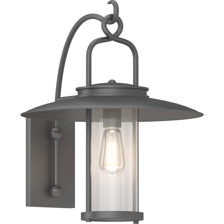 Volume Lighting 1 Light Black Outdoor Lantern Wall Sconce Overstock 31285757