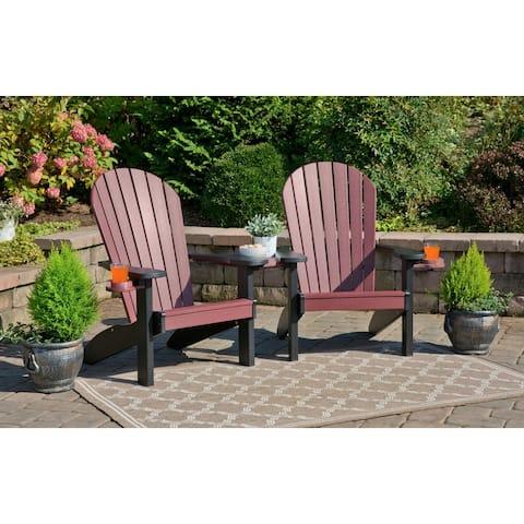Poly Adirondack Companion Chair Set