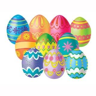 Small Easter Egg Cutouts