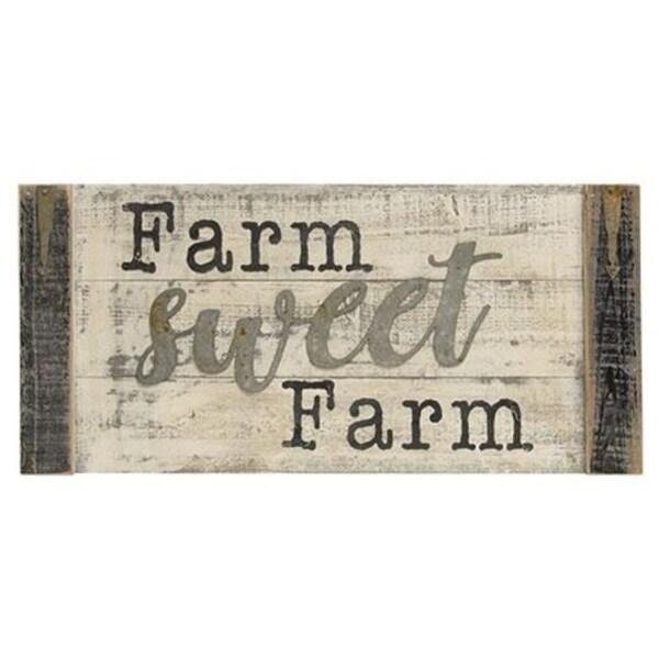 Farm Sweet Farm Wall Sign