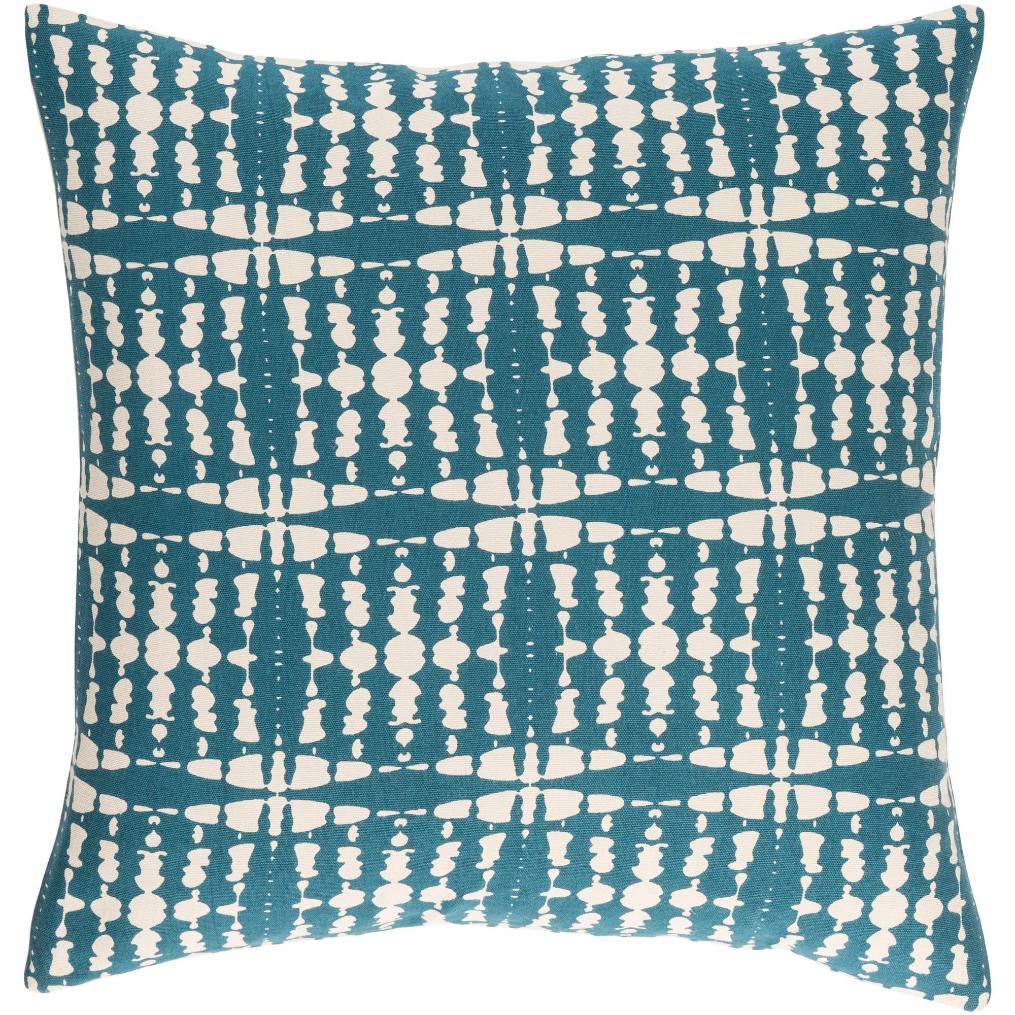 Picture of: Decorative Staveley Teal Blue 22 Inch Throw Pillow Cover Overstock 23143737