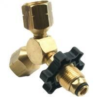 "Mr Heater F271735 Propane ""Y"" Female Adapter with Handwheel"