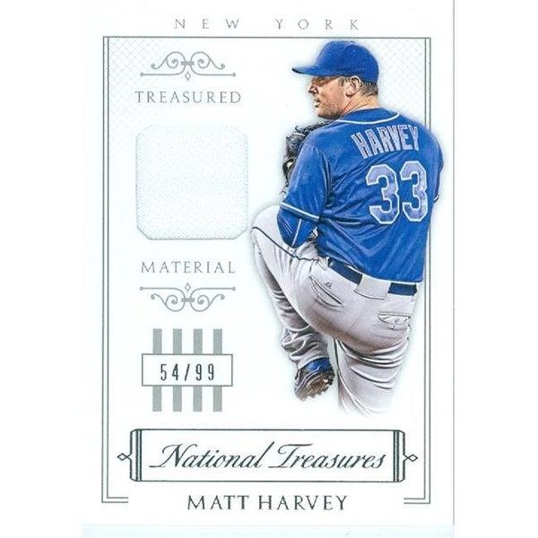 d21935e576a Shop Matt Harvey Player Worn Jersey Patch Baseball Card - New York Mets -  Free Shipping On Orders Over  45 - Overstock - 23966400
