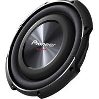 """Pioneer TSSW2502S4 Pioneer TS-SW2502S4 Woofer - 300 W RMS - 1200 W PMPO - 20 Hz to 125 Hz - 4 Ohm - 91 dB Sensitivity -"