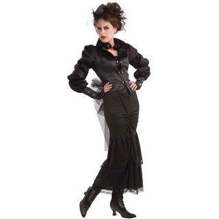 Forum Novelties Steampunk Victorian Lady - Black - Standard