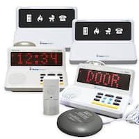 Sonic Alert SA-HA360KIT4 HomeAware 4 Room Solution Value Alarm Package