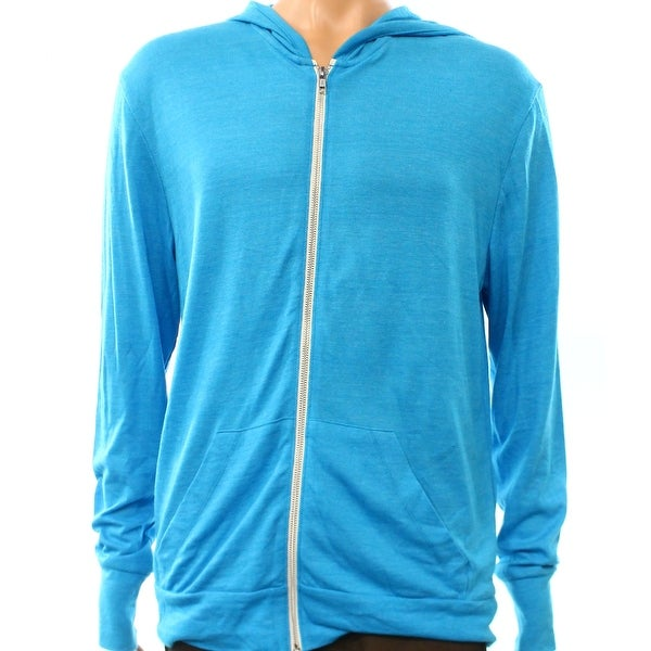 31d5fa07cc4e0b Shop Alternative NEW Blue Mens Size Large L Lightweight Full Zip Sweater - Free  Shipping On Orders Over $45 - Overstock - 17406523
