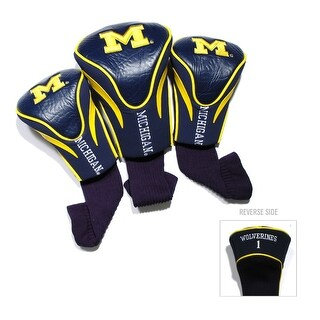 University of Michigan Contour Sock Headcovers (3 pack)