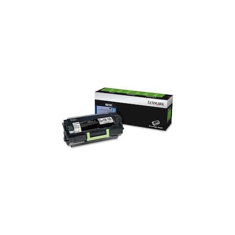 Lexmark 62D1X00 Lexmark 621X Extra High Yield Return Program Toner Cartridge - Black - Laser - 45000 Page - 1 Each