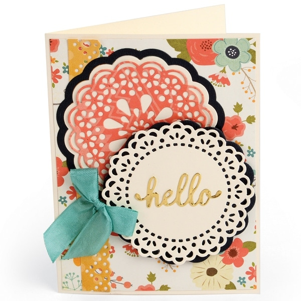 Sizzix Thinlits Dies 7/Pkg-Hello Dolly