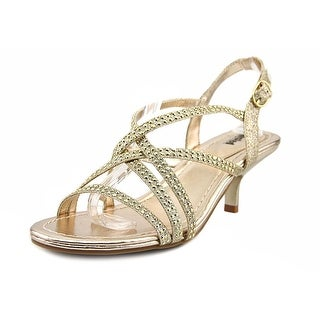 Unlisted Kenneth Cole Kind Doll Women Open Toe Synthetic Gold Sandals