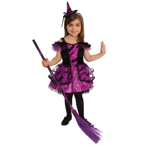 Rubies Purple Witch Child Costume